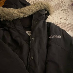 Columbia Winter Jacket with Fur Hood